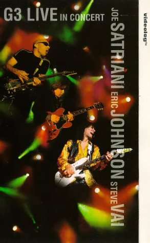 In Live Concert G3 (Joe Satriani - G3: Live In Concert [VHS])