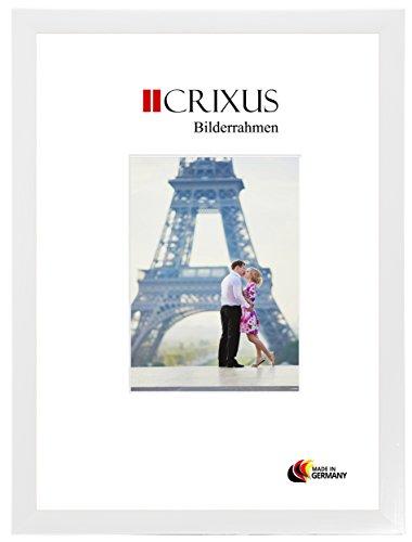 CRIXUS Crixus35 Bilderrahmen für 22 cm x 15 cm Bilder, Farbe: Kiefer Weiß, Holzrahmen MDF...