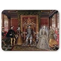 Allegory un successione dei Tudor: The.. Art247-Tappetino per Mouse in gomma naturale di alta qualità-Tappetino per