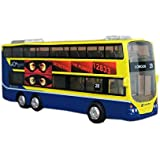 London 28 City Bus Model Mini Double-decker Bus Toy For Boys 6.3''