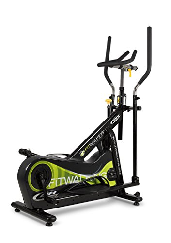 BH Fitness FITWALKING G290 Elliptical crosstrainer. A must for every gym! Reduced dimensions. Flywheel 33 lbs.