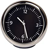 Discoball® Table Classic Car Dashboard Small Round Analog Quartz Clock 【Size: 4x4x4CM】