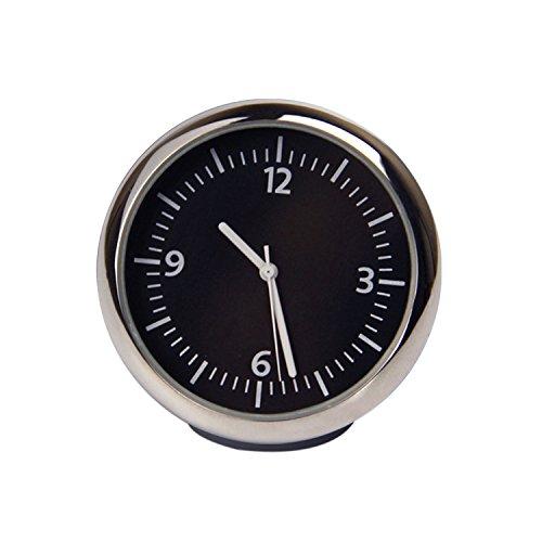 Preisvergleich Produktbild Discoball® mini Aufbauuhr Autouhr Einbauuhr Zeituhr Cockpituhr Car Auto Clock Cockpit Uhr Analog Analogue Quarz (Größe: 4 x 4 x 4 cm)