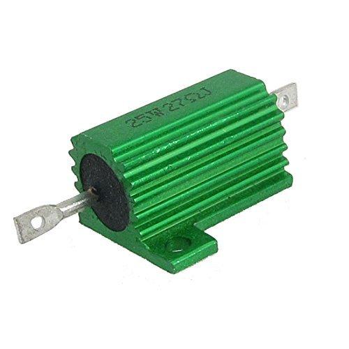 Preisvergleich Produktbild Chasis Mounted Grün-Alu-Drahtwiderstände 25 W 27 Ohm 5%