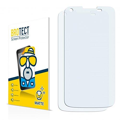 2X BROTECT Matt Bildschirmschutz Schutzfolie für Kazam Th&er 340W (matt - entspiegelt, Kratzfest, schmutzabweisend)