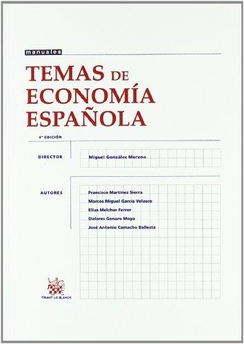 Temas de Economía Española