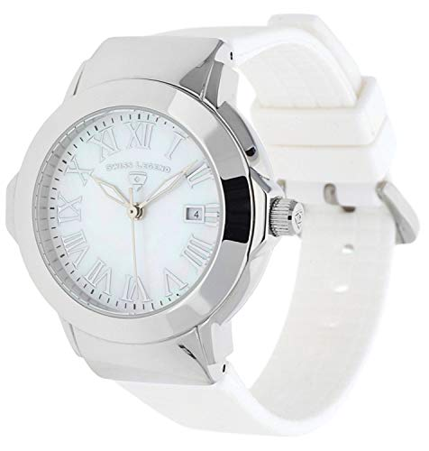 Swiss Legend Orologio da polso da donna South Beach Bianco SL 20032 – 02-Wht