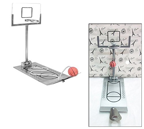 Huihuger Lovely Miniatur Metall Schreibtisch Top faltbar Basketball Spiel Kinder Geburtstag Geschenk -