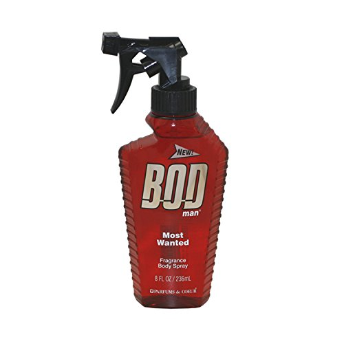 BOD Man Fragrance Body Spray, Most Wanted, 8 Fluid Ounce by Bod Man