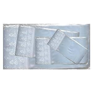Lot 500 sachets à fermeture zip 80x120 mm 8x12 cm cm pochettes qualité alimentaire 50microns Jeco