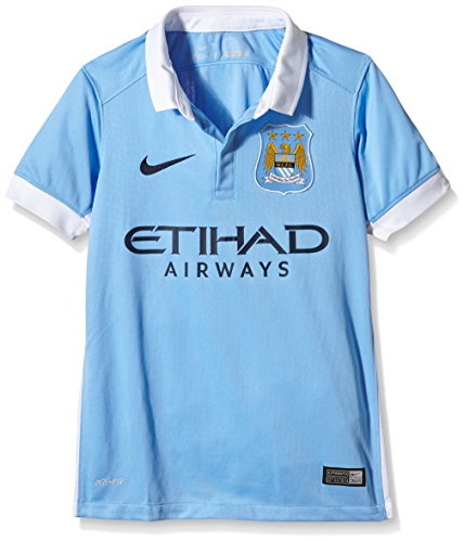 Nike Boy's Manchester City Home Jersey