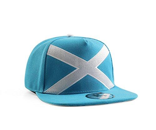 Underground Kulture Scotland Blue Snapback Baseball Cap