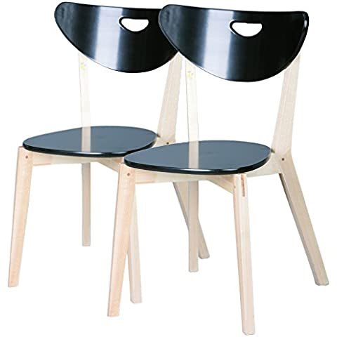 Links 30200525, Set di 2 sedie in