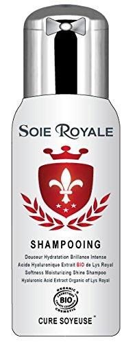 Champú Seda Royale Bio Cure Soyeuse litro cuidado hidratación brillo Intense vegetal Régénérant rejuvenecedora Cabello Rostro Cuerpo Sin alcohol Certificado Ecocert Cosmebio Made in France