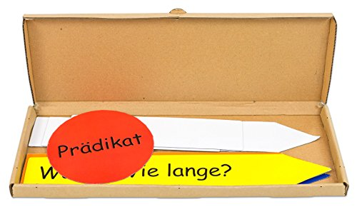 Betzold Magnetischer Satzstern für die Tafel, anschaulich Üben, Tafelmaterial, Sätze bilden Satzteile zerlegen Deutsch-Unterricht Schule Kinder schreiben Lernen