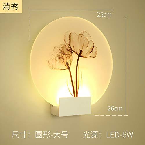 Moderner Schöneza romántica imagen clásico lámpara de pared para cama dormitorio escalera corredor porche nórdicos LED iluminación hogar D