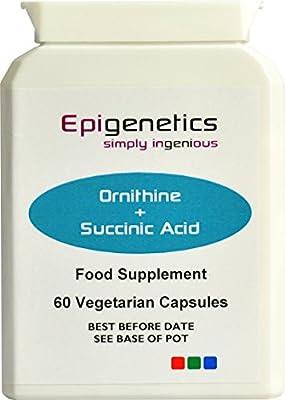 Ornithine + Succinic Acid pack of 60 capsules