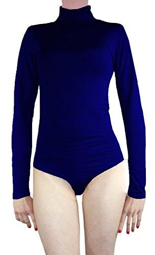 Body termico a collo alto, a maniche lunghe, da donna Dunkel Blau