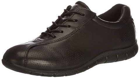 Ecco Babett, Chaussures de ville femme, Noir (Black), 38
