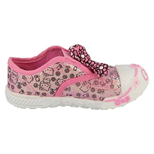 Hello Kitty , Sandales Compensées fille Rose