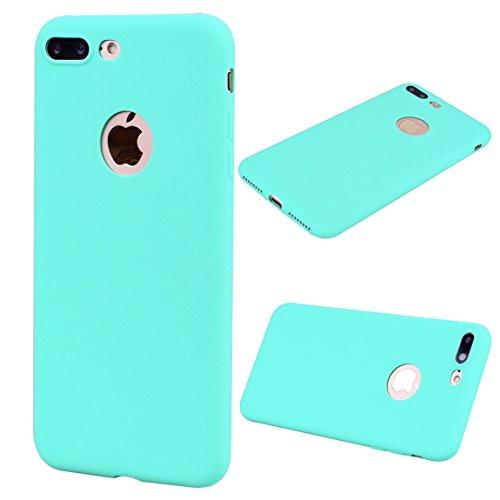 iPhone 7 Plus Hülle, Voguecase [Shockproof] [Fallschutz] Rüstung Schutz Etui Soft TPU Silikon Stoßfeste Protective Cover Case für Apple iPhone 7 Plus 5.5(Weiß) + Gratis Universal Eingabestift Grün