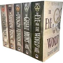 Robert Jordan The Wheel of Time Collection 5 Books Set Series 1 (Book 1-5)