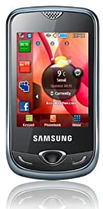 Samsung Corby 3G S3370 Smartphone (6,6 cm (2,6 Zoll) Display, Touchscreen, 1,3 Megapixel Kamera) chrome-silver