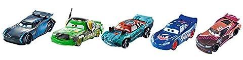 Disney FGR91 Cars 3 Die-Cast Vehicle, Pack of 5