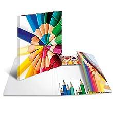Herma Saelmappe Impressions DIN Folder Motif pens DIN A3 1 Items