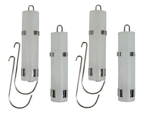 versandfuxx24 4 Verdunster Luftbefeuchter für Heizung Heizkörper