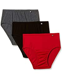 jockey womens Cotton Hipster Panties Pack of 3