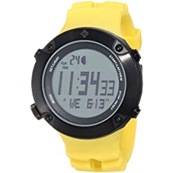 Columbia Men's CW004901 Tidewater Yellow Digital Sports Watch