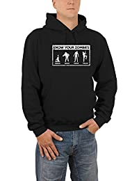 Touchlines Herren Kapuzenpullover Know Your Zombies