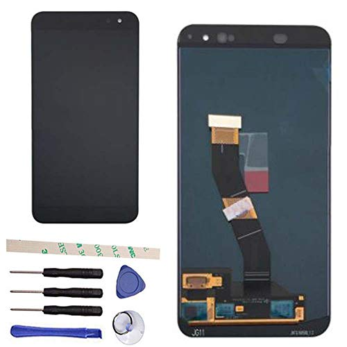 draxlgon Komplette LCD Bildschirm Touchscreen Digitizer Glas Panel für Alcatel Vodafone VDF900 VFD900 900 Black