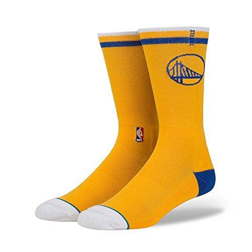 Stance Golden State Warriors Arena Logo NBA Socken Gelb L