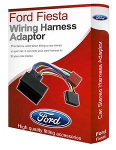 Ford Kuga Radio Stereo Kabelbaum Adapter Blei Loom ISO-Konverter Stecker (Ford-stereo-kabelbaum)