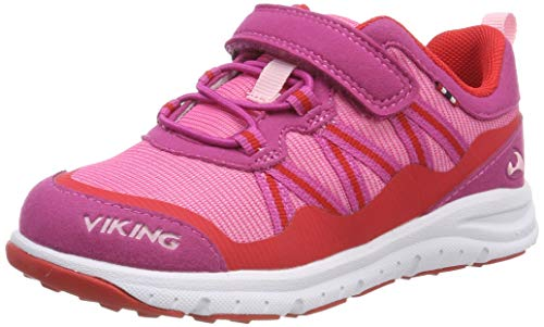 Viking Unisex-Kinder Holmen Cross-Trainer, Pink (Magenta/red 9610), 24 EU