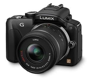Panasonic Lumix DMC-G3KEG-K Kit compact hybride + Objectif 14-42 mm 16 Mpix Noir