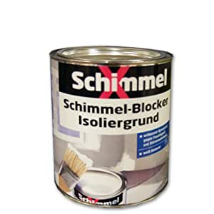 pufas schimmelx schimmel blocker isoliergrund wei 750ml sperrgrund gegen schimmel. Black Bedroom Furniture Sets. Home Design Ideas