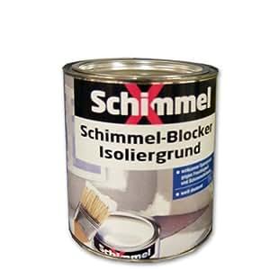 pufas schimmelx schimmel blocker isoliergrund wei 750ml sperrgrund gegen schimmel. Black Bedroom Furniture Sets. Home Design Ideas