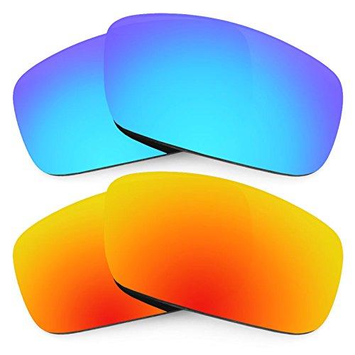 Revant Ersatzlinsen für Spy Optic Logan Polarisiert 2 Paar Kombipack K002