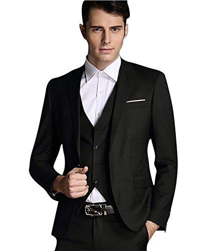 ück Anzug für Hochzeiten Schule Proms Office DE 44 (Asian L) (80 Prom Kostüme Männer)