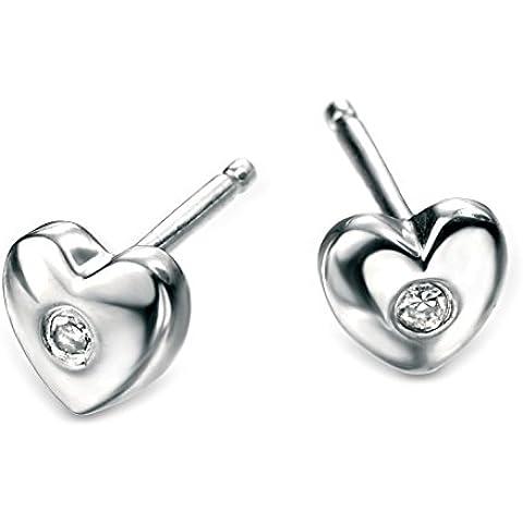 D for Diamonds-Orecchini a forma di cuore