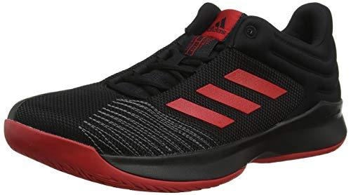 Adidas Pro Spark 2018 Low, Zapatillas de Baloncesto para Hombre, (Negbás/Escarl/Gricua 000), 42 EU