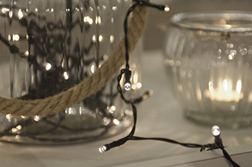 Lichterkette mit 96 LEDs Weihnachtsbeleuchtung Minibild