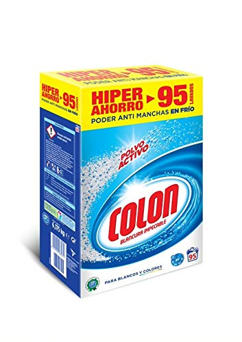 Colon Detergente Lavadora Ropa Polvo Activo 95 dosis