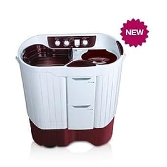 Godrej WS Edge Pro 750CS Semi-automatic Top-loading Washing Machine (7.5 Kg, Wine Red)