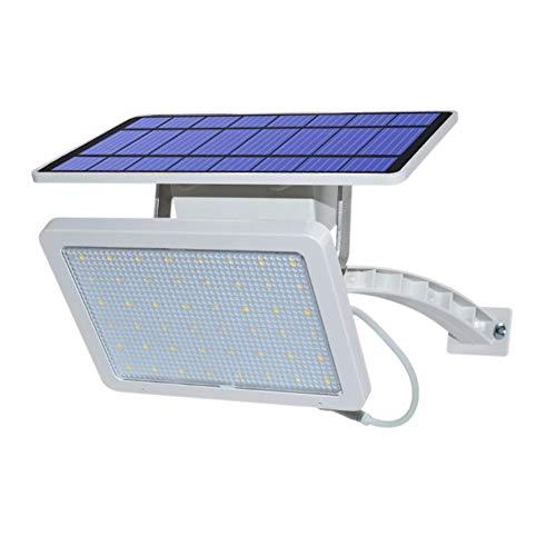 LKSDD Solar Split Wandleuchte, 48led Wand Gartenleuchte mit wasserdichter Ip65 Super Bright Safe Area Nachtbeleuchtung,White -