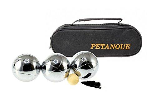 Weiblespiele 010121 - Boules-Kugeln, 3 Stück Tasche