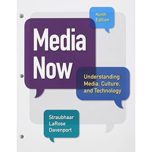 Bundle: Media Now, Loose-Leaf Version, 9th + LMS Integrated for MindTap Communication Arts, 1 term (6 months) Printed Access Card by Joseph Straubhaar (2015-06-01)